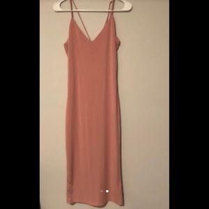Mauve Strap Dress